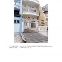 3 bidang tanah dengan total luas 280 m<sup>2</sup> berikut bangunan di Kota Jakarta Utara