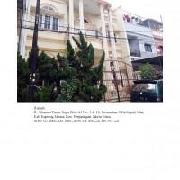 1 bidang tanah dengan total luas 159 m<sup>2</sup> berikut bangunan di Kota Jakarta Utara