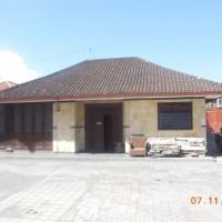 Tanah seluas 500 m2 berikut bangunan, SHM No. 1596, di Kelurahan Kuta, Kuta, Kabupaten Badung (Bank Oke Indonesia)