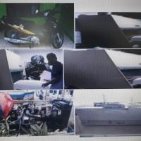 BUSKIPM : Sepeda Motor Honda Supra X125 Thn 2005 No B 6034 TQQ dan 1 Paket Peralatan Mesin