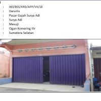 1.PT.Bank Sahabat Sampoerna : Sebidang tanah luas 96 m2 berikut bangunan di Kelurahan Surya Adi Kecamatan Mesuji Kabupaten Ogan Komering Ili