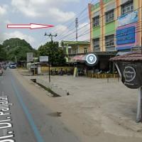 [BRI A. RIvai] Dua bidang tanah dengan total luas 475 m2 berikut bangunan di Jl. DI Panjaitan, Palembang