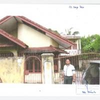 3. PT. BRI Kanca Palembang A.Rivai : Sebidang tanah luas 397 m2 berikut bangunan di Kel. 20 Ilir Kec. Ilir Timur I Kota Palembang