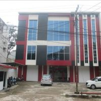[Bank BJB] Tiga bidang tanah total luas 328 m2 (SHGB) dijual satu paket berikut bangunan di Jl. Residen Abdul Rozak No.35-37 Palembang