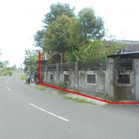 BTN - 1 bidang tanah dengan total luas 390 m2 berikut bangunan SHM 1072, di Desa Ngrundul, Kec. Kebonarum, Klaten