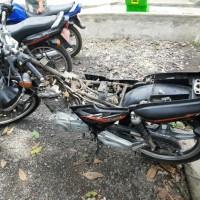 Lot 4 : 1 (satu) Unit Sepeda Motor, Merk/Type Suzuki EN 125 A, Nopol DR 2245 J (BPTP NTB)