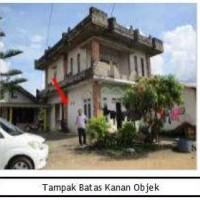 1.PT. Bank Mega, Tbk /1 bidang tanah dengan total luas 318 m2 berikut bangunan di Kabupaten Bangka