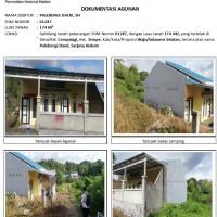 PNM :1 bidang tanah dengan total luas 174 m2 berikut bangunan di Kabupaten Wajo