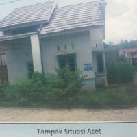 1 bidang tanah dengan total luas 120 m2 berikut bangunan di Kabupaten Muaro Jambi