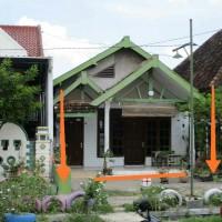 Bank Mega- Tanah SHM seluas 188 m2 berikut bangunan di Desa Tebon, Kec. Karangmojp (sekarang Kec.Barat), Kab.Magetan