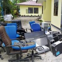 KPPN Sidikalang Lot 1, 1(satu) Paket Barang Inventaris BMN yang telah rusak Berat