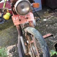Kantah Barsel: 1 unit sepeda motor  Suzuki A 100, tahun 1980, KH 5282 D (scrap) (6)