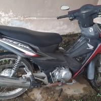 Kantah Barsel: 1 unit sepeda motor  Honda/NF 100 TD, tahun 2007, merah abu-abu, KH 2520 DY (tanpa BPKB) (5)