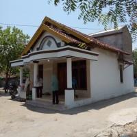 BRI Rembang: Tanah & bangunan SHM 333 Lt. +/- 325 m2 di Ds/Kel Kalipang,Kec Sarang,Kab Rembang