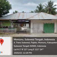 1 bidang tanah dengan total luas 395 m2 berikut bangunan, SHM, di Kabupaten Buol (PT. PNM CAB Palu) Lot 2