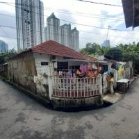 1 bidang tanah dengan total luas 162 m2 berikut bangunan di Kota Jakarta Pusat