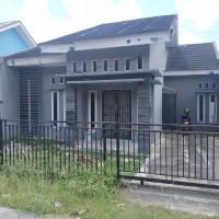 BNI SKK Pku-1. Tanah & bangunan, luas 148 m2, SHM 113, di Perum Tulip Regency Blok B-6, Sialang Munggu, Tuah Madani, Pekanbaru