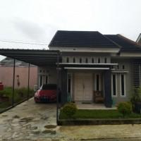BNI SKK Pku-3. Tanah & bangunan, luas 148 m2, SHM 112, di Perum Tulip Regency Blok A-6, Sialang Munggu, Tuah Madani, Pekanbaru