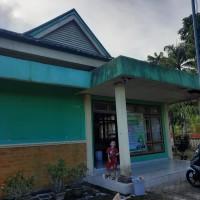 Kemenag Bolmong -  Material yang akan dibongkar pada bangunan gedung kantor permanen di Kabupaten Bolaang Mongondow