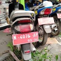8. Pemkot Malang - HONDA C 100 ML Nopol N 4076 AP di Kota Malang