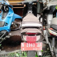 9. Pemkot Malang - HONDA C 100 ML Nopol N 2963 AP di Kota Malang