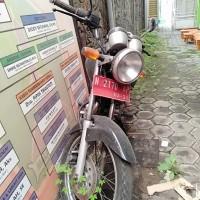 12. Pemkot Malang - HONDA GL PRO160 Nopol N 2170 AP di Kota Malang