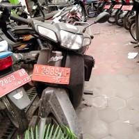 6. Pemkot Kota - HONDA C 100 ML Nopol N 2989 AP di Kota Malang