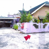 2.PT.BNI RRR Palembang : Sebidang tanah luas 200 m2 berikut bangunan di Kel.2 Ilir Kec.Ilir Timur II Palembang