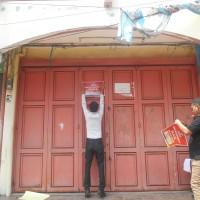 BJB.Banten :1 bidang  tanah luas 64 m2, SHM No.483 + bang.luas 120 m2,Ruko Serang Plaza Blok B2 No.21 Kel.Kota Baru Kec.Serang Kota Serang