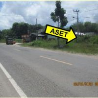 Bank Mandiri : Tanah  luas 11710 m2 didi Jl. Ahmad Yani Km. 23,5, Desa Sumber Agung, Kec. Kumai, Kab. Kotawaringin Barat
