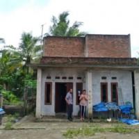 Sebidang tanah Seluas 154 m2, berikut bangunan di Kel.Kolelet Wetan Kec.Rangkasbitung, Kab. Lebak (BNI)
