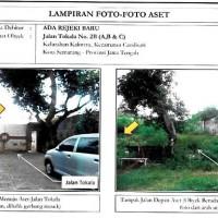 BCA: 1 paket berupa: 3 bidang tanah dengan total luas 876 m2 dengan tembok keliling  di  Kel. Kaliwiru Kec. Candisari Kota Semarang