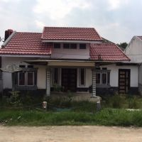 Bank Mandiri RRCR 1-3. Tanah & bangunan, luas 148 m2, SHM 1531, di Kel. Limbungan Baru, Kec. Rumbai, Kota Pekanbaru