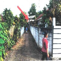 1 bidang tanah dengan total luas 1871 m<sup>2</sup> berikut bangunan di Kabupaten Sukabumi