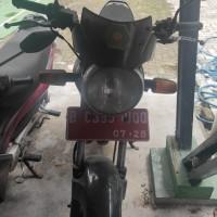 BPS JAKARTA UTARA-Motor Honda GL 160 D, Tahun 2010, No.Pol. B 6395 UQQ, Kondisi Rusak Berat di Kota Jakarta Utara