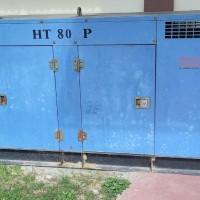 (LPMP Gorontalo) : 1 (Satu) Unit Stationary Genenerating Set Merk Perkins Stamford Silent Type 80 KVA Tahun 2006 Warna Biru