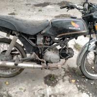 BKAD Bantul 1.18 : 1 unit motor Honda Win nopol AB 2876 UB tahun 1991, STNK/BPKB lengkap