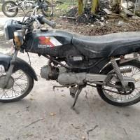 BKAD Bantul 1.20 : 1 unit motor Honda MCB/ Win 100 nopol AB 2870 UA tahun 1992, STNK/BPKB lengkap