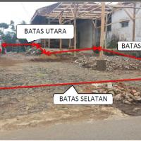 1 bidang tanah dengan total luas 141 m<sup>2</sup> di Kabupaten Bandung Barat
