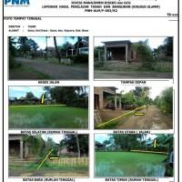 PNM: 1 bidang tanah dengan total luas 2490 m2 berikut bangunan di Kabupaten Bone