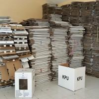 KPU Mataram - 1( satu) paket Barang Milik Negara habis pakai eks pemilihan berupa surat suara, Bilik suara dan Kotak Suara