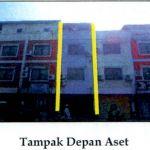 1 bidang tanah dengan total luas 40 m2, berikut bangunan di Kota Manado. BCA Wil. Makassar