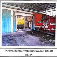Tanah seluas 493 m2 berikut bangunan, SHM No. 344, di Peguyangan, Denpasar Utara, Kota Denpasar (BPR Lestari Bali)
