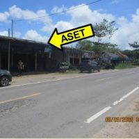 1 bidang tanah dengan total luas 4850 m<sup>2</sup> berikut bangunan di Kabupaten Kotawaringin Barat