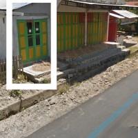 Tanah&bangunan luas 70 m2,terletak di Desa Tombiano,Tojo Barat,Touna SHM No.00643 an.Syafrudin Lamusu (BRI POSO)