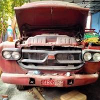 (Pemko Pekanbaru - 90) 1 paket barang scrap terdiri 4 unit eks mobil pemadam kebakaran merk Isuzu