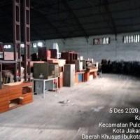 Kementerian BUMN : 1 paket peralatan kantor/peralatan mesin rusak berat, barang persediaan usang, bongkaran bangunan Kondisi Rusak Berat