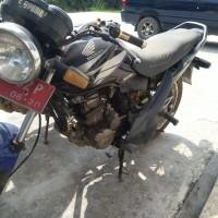 BPS Rokan Hilir- Motor Honda GL 160 D di Kabupaten Rokan Hilir