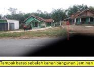 1 bidang tanah dengan total luas 988 m<sup>2</sup> berikut bangunan di Kabupaten Musi Banyuasin