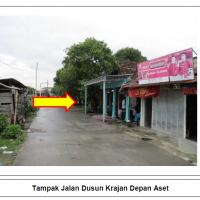 (Mandiri) 1 bidang tanah dengan total luas 84 m2 berikut bangunan di Kabupaten Demak